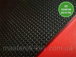 Резина набоечная КОСИЧКА Украина 350*350*7 мм цвет черный