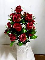 Букет роз V 126/18 (6 штук) Цветы искусственные