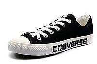 Кеды Converse мужские текстиль, черные, р. 42 43