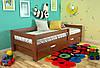 Деревянная кровать с бортиком Альф