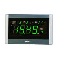 Часы говорящие 771 Т-4 салатовые, пульт ДУ