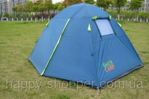 Палатка Green Camp 1001B (синяя)