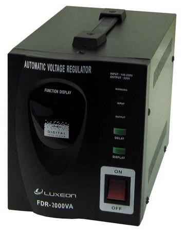 Стабилизаторы напряжения релейные Luxeon FDR 1kVA, 1,5kVA, 2kVA, 3kVA, 5kVA, 8kVA, 10kVA
