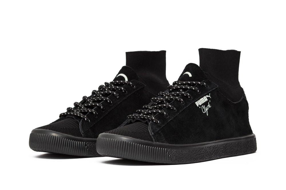 pretty nice 777af 91be0 Оригинальные мужские кроссовки Puma Clyde x Black Rainbow Sock