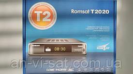 Цыфровой эфирный ресивер Romsat T2020
