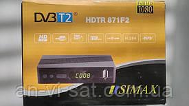 Цыфровой эфирный ресивер Simax T2 HDTR 871F2
