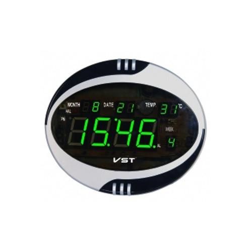 Часы говорящие 770 Т-4 салатовые, пульт ДУ