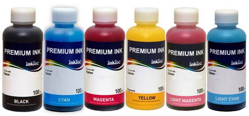 Чернила для сублимации InkTec, Yellow, 100мл
