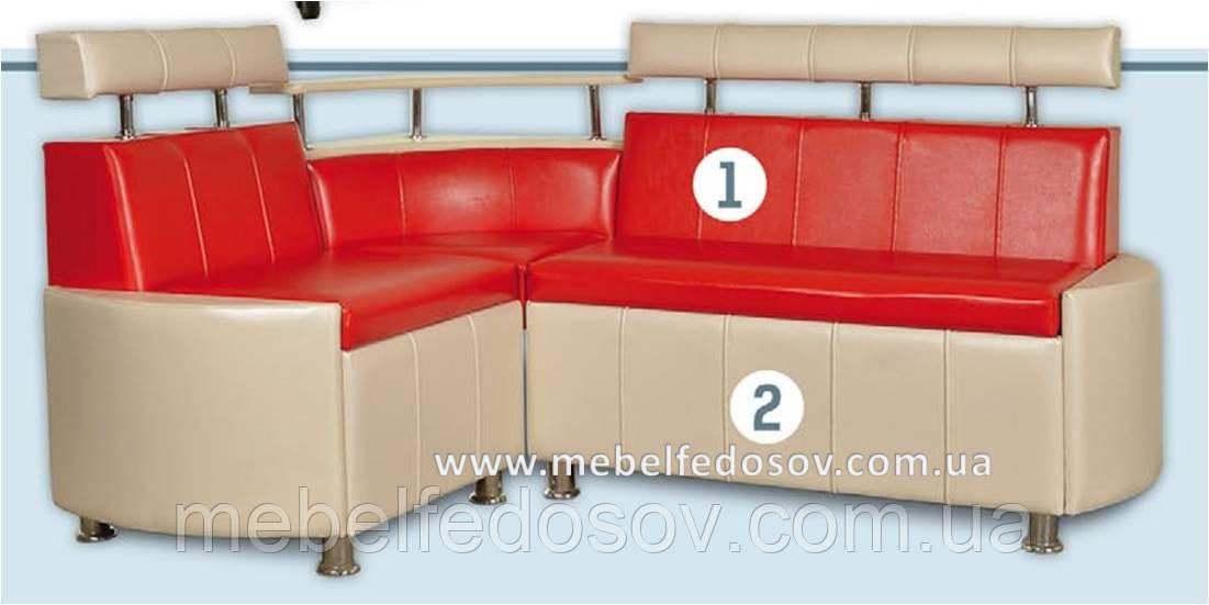 Кухонный угол Мадрид (FM/ФМ)  1700х1300х600 h900 (2кат)
