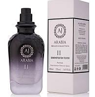 Тестер парфюмированная вода AJ ARABIA BLACK COLLECTION II унисекс ( АДЖ АРАБИЯ БЛЭК КОЛЛЕКШН 2), 50 мл