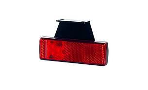 Габаритно - контурный фонарь HOR 41, красный, с диодом LED, отражателем и кронштейном, 0,5 м кабель, 12/24 V, правый (P) или левый (L), фото 2