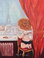 """Копия картины Е.Гапчинской """"Утро в Париже"""""""
