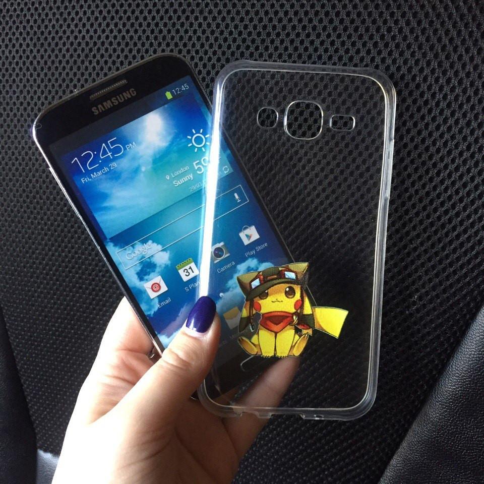 Чехол силиконовый с картинкой для Samsung Galaxy A3 2015 (A300h)