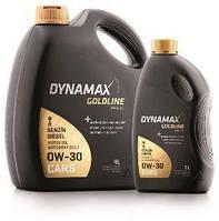 Моторное масло для легковых авто DYNAMAX GOLDLINE LONGLIFE 0W30 1L