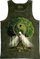 3-D майка YIN YANG TREE (унисекс)
