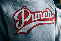Свитшот мужской Punch grey-red
