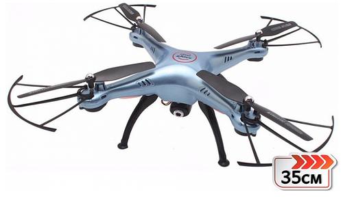 Квадрокоптер с видеокамерой Syma X5HC барометр, гироскоп