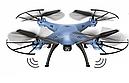 Квадрокоптер с видеокамерой Syma X5HC барометр, гироскоп, фото 2
