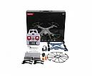 Квадрокоптер с видеокамерой Syma X5HC барометр, гироскоп, фото 5