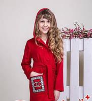 Детский трикотажный кардиган на девочку Размеры 134 140 152