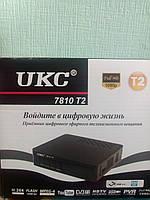 Цифровой эфирный ТВ тюнер DVB T2 UKC 7810