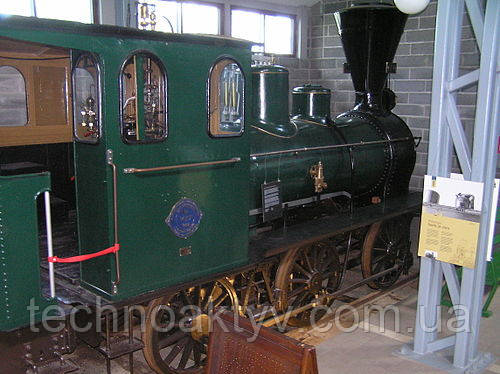 1882 год - Hanomag - паровоз