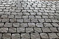 Вибролитая тротуарная плитка под натуральный камень (брущатка) 40мм 100х100мм