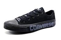 Кеды Converse унисекс текстиль, черные, р. 36 37 38 39