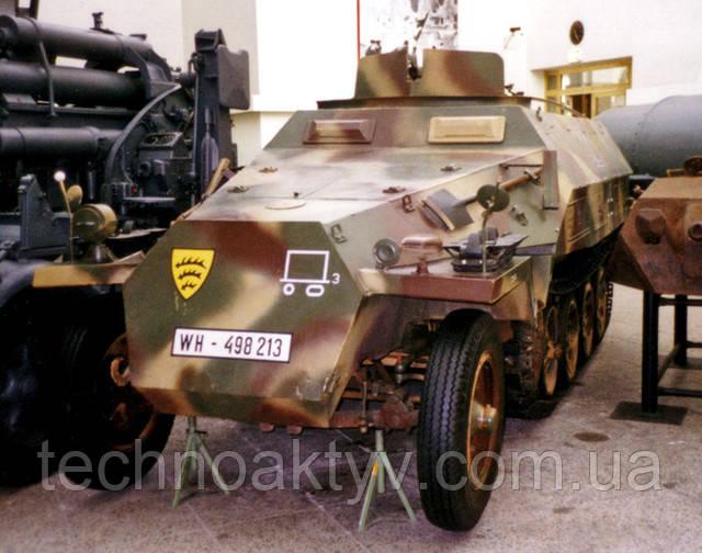 Спецмашина Hanomag sd.kfz. 251 dresden