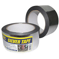 Металлизированная лента HPX Silver Tape, 50 мм x 50 м