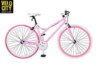 Шоссейный розовый велосипед 28 PROFI FIX26C701-2, фото 1