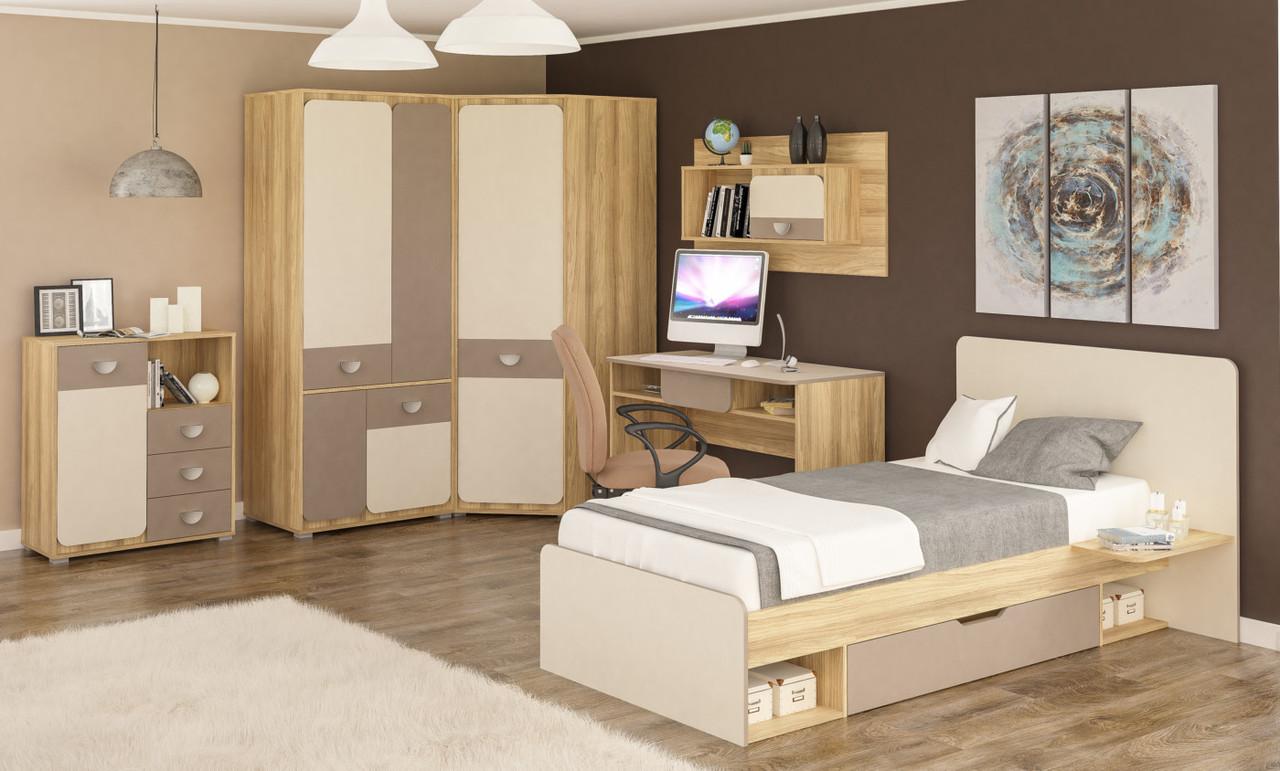 """Кровать """"Лами"""" 90 Мебель-Сервис"""