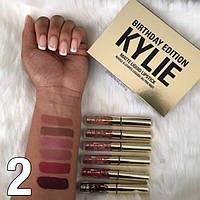 Губная матовая помада с набора Kylie Birthday Edition на выбор