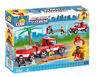 Конструктор Пожарно-спасательная команда, серия Action Town, COBI