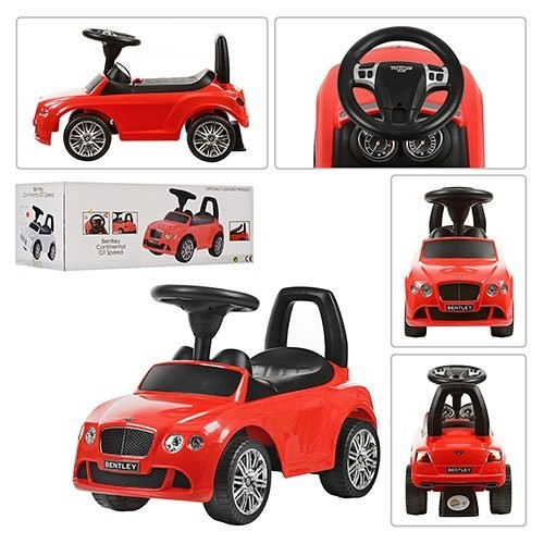 Машинка-каталка Bentley Alexis-Babymix Z326 цвет красный - фото 2