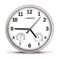 Часы настенные Esperanza Lyon EHC016 White