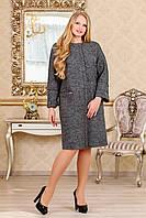 Стильное демисезонное пальто для женщин 1027 (44–58р) в расцветках, фото 1