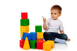 Пірамідки, кубики