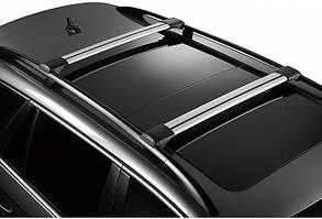 Верхний багажник на машину Nissan Primastar (2 поперечины с замком)