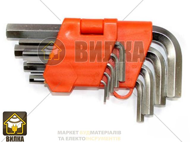 Набор ключей L-образных, шестигранных Lavita LA 511601