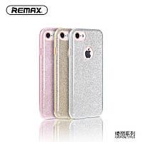 Чехол для iPhone 7 - Remax Glitter, разные цвета
