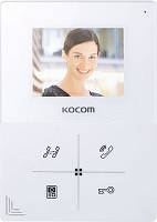 Видеодомофон Kocom KCV-401EV (white/black)