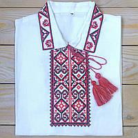 Рубашка для мальчика на короткий рукав ( 100% лен), фото 1