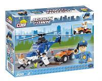 Конструктор Полицейский вертолет, серия Action Town, COBI