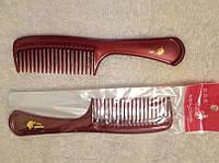 Расческа для волос мужская с ручкой