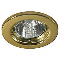 Точечный светильник спот MR16 золото