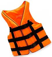 Жилет страховочный Bark, оранжевый, 110-130 кг