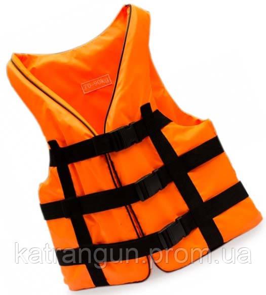 Жилет страховочный Bark, оранжевый, 70-90 кг - Магазин подводного снаряжения KatranGun — подводная охота, дайвинг, плавание, бассейн, обучение ПО в Киеве