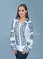 Заготовка Сокальської жіночої сорочки для вишивки нитками/бісером БС-79