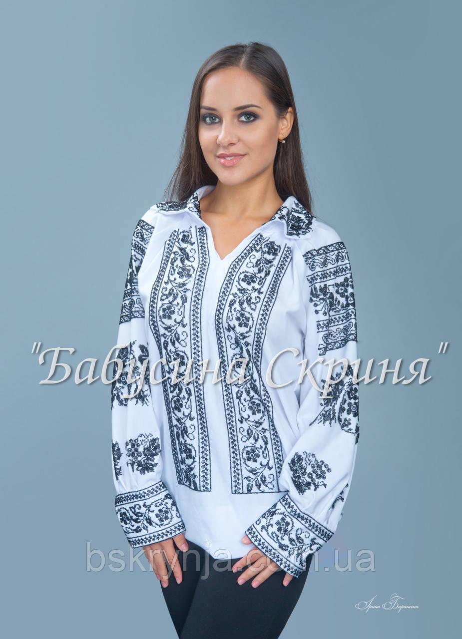 Заготівля Сокальської жіночої сорочки для вишивки нитками/бісером БС-79